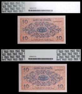 1936. Burgos. 10 pesetas. (Ed. ...