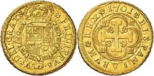 1701. Felipe V. Sevilla. ...
