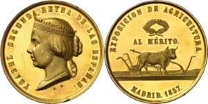 1857. Isabel II. Madrid. ...
